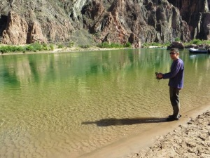 Dave at Colorado River