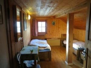 Our cozy room at Refugio Genova