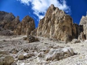 Challenging but beautiful terrain