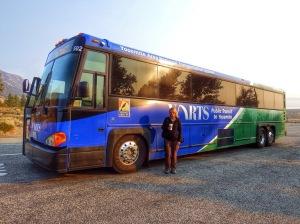 Yosemite shuttle bus