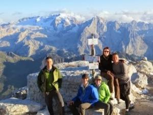 Summit of Piz Boe