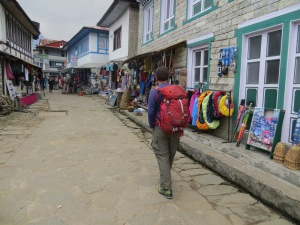 Strolling through Lukla