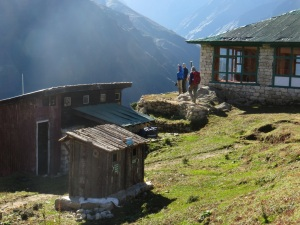 What a view. Just above Namche Bazaar