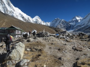 Gorak Shep, the last settlement before Everest Base Camp