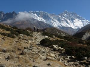 Rugged Himalayan terrain