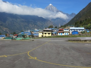 The airport in Lukla