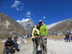 Getting close to the dramatic high peaks of the HImalayas