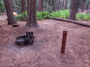 Backpacker's  campground