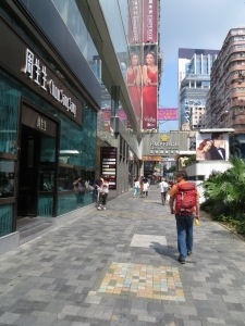 Street of Hong Kong