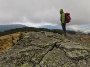 Cervena Hora (Red Mountain) summit