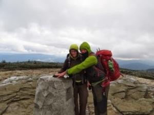Summit of Keprnik Mountain
