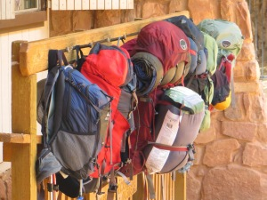 Supai cafe - a popular stop for hikers