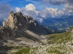 Dolomites the beautiful