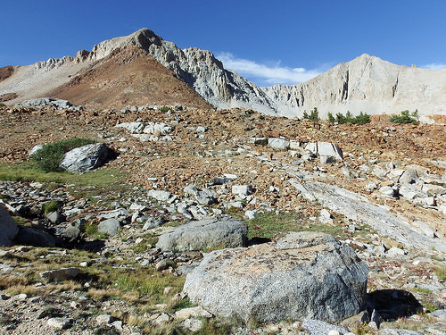 Terrain North of Pinchott Pass