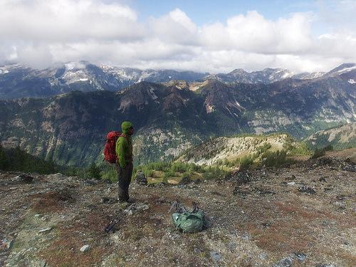 Still decent weather for attempting Mt. Maude climb