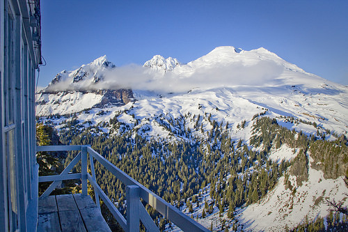 View of Mt. Baker from Park Butte Lookout
