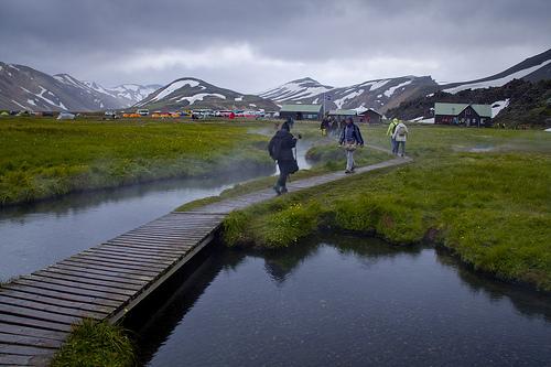 Landmannalaugar hotsprings