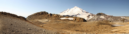 Mount Baker from Ptarmigan Ridge